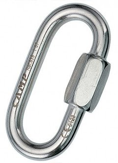 Camp USA OVAL QUICK LINK STAINLESS 8 mm