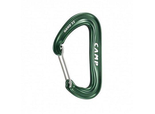 Camp USA Nano 22 Non-Locking, Wire Gate Carabiner