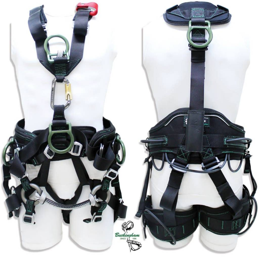 Buckingham Mfg Buck R.A.T.H.™ (Rope Access Technicians Harness)