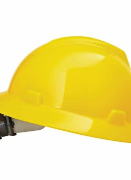MSA Safety V Gard Hard Hat W/Rachet Suspension