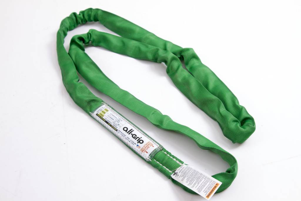 OSP Sling Polyester Round Sling Green,