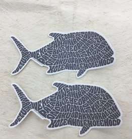 Ulua Fish Sticker
