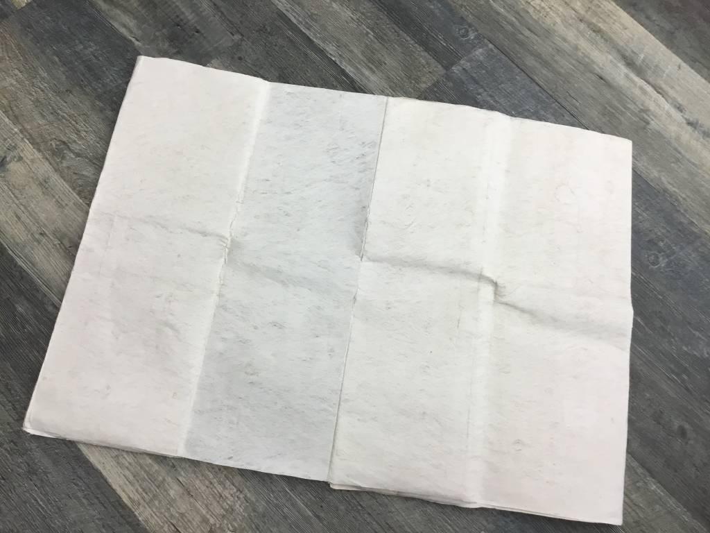 """Fijian White Tapa Approx 2'x12"""""""