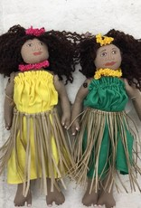 Large Wahine Hula Dolls