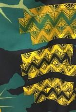 Tutuvi Flared Dress Kalo/Kapa Navy