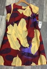 Tutuvi Flared Dress Heliconia Red