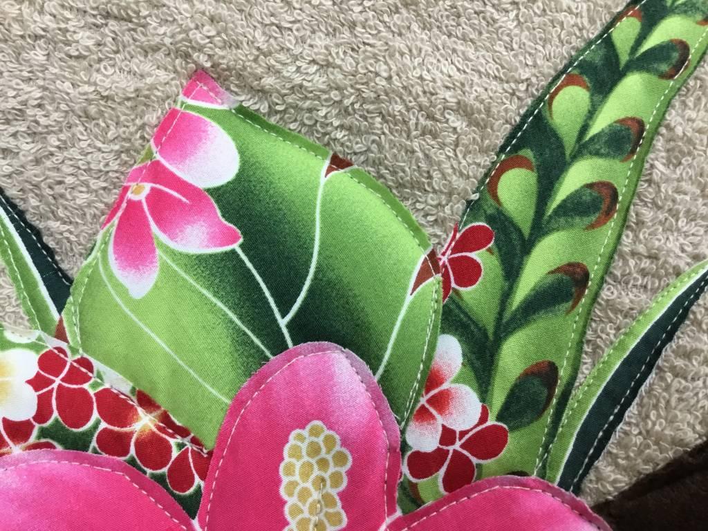 """Handmade Foot Mat """"Ukulele"""" 17"""" x 27.5"""""""
