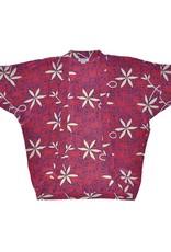 Blue Hawaii (Kimono Cover-Up) - Red