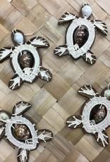 Handmade Ornament Honu (Turtles)