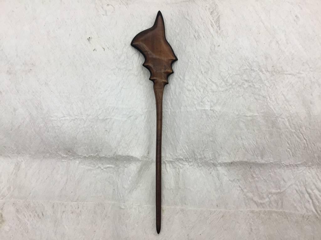 Koa Hair Stick Shell