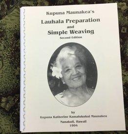 Hana Hou Lauhala Simple Weaving Book