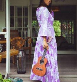 TITAINA MAXI DRESS NAVY