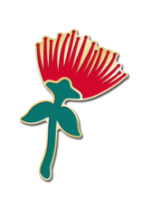 ʻŌhiʻa Lehua Pin ʻāpane Pin