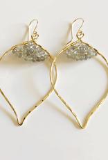 14GF Malie Labradorite Earrings