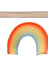 Rainbow Notecard Single