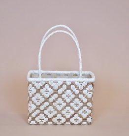 Tahiti Lauhala Design Anoni Bag