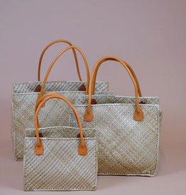 Medium Indonesian Lauhala Bag