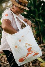 Hana Hou Hana Hou X Margaret Rice Canvas Tote