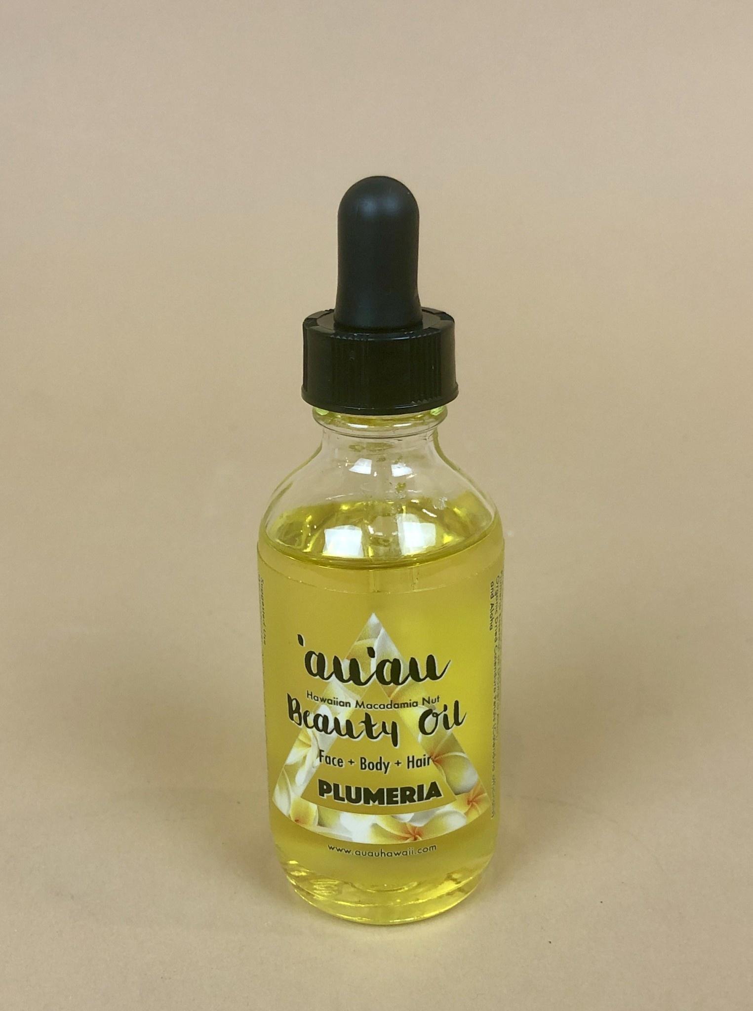 Hana Hou 'Au'au Plumeria Beauty Oil