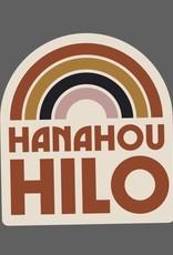 Hana Hou Hilo Anuenue Sticker