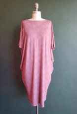 Uluwehi Rose Pū Hala Dress