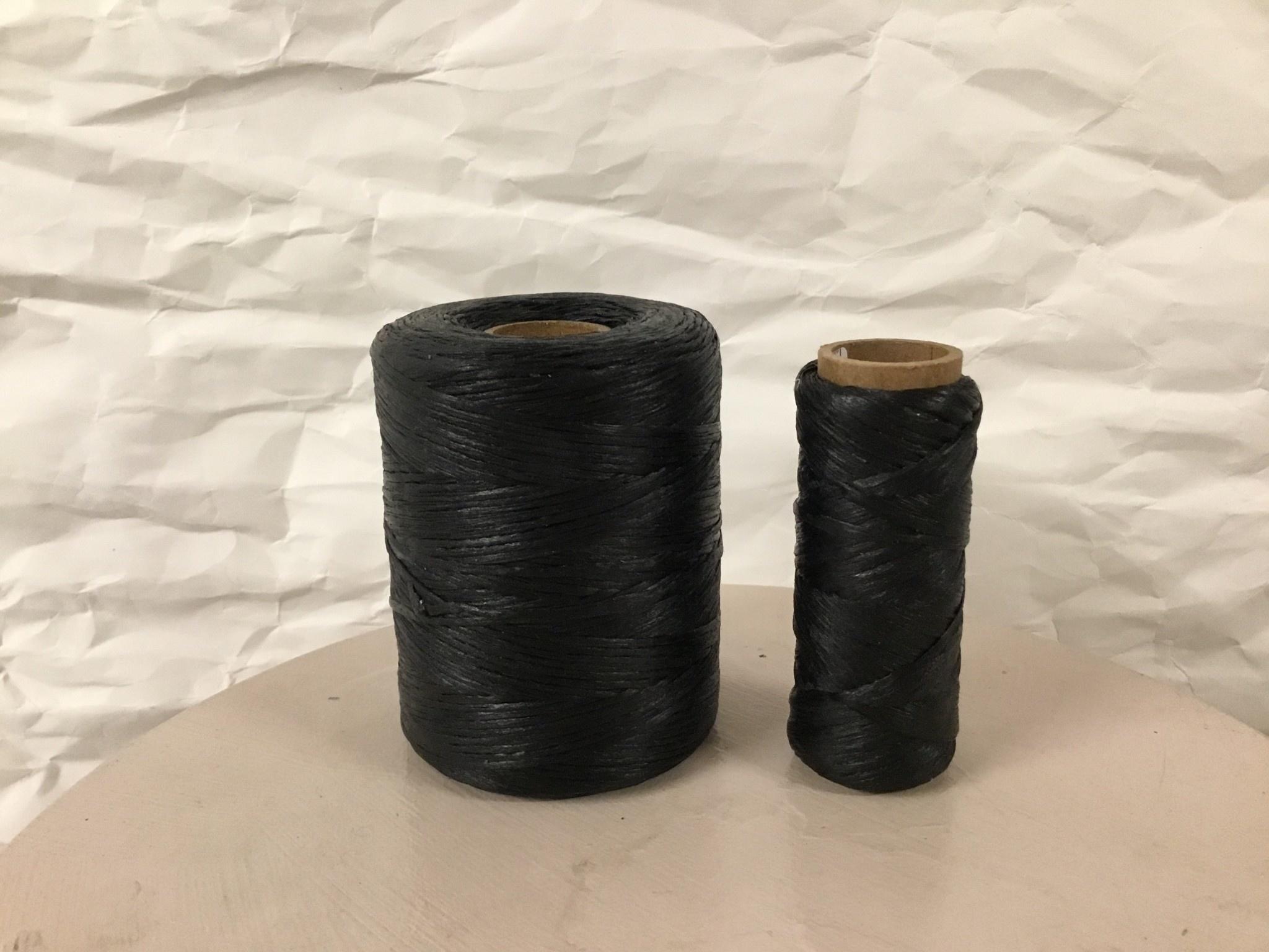 Black Natural Imitation Sinew 544 Yds 100% Polypropylene