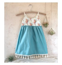 Boho Bird of Paradise Dress