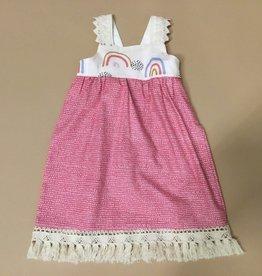 Pink Rainbow Dress