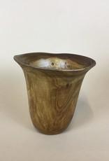 """Hana Hou Hawaii Made Turned Wood Koa Pine Height:5.5""""; Width:5.5"""""""