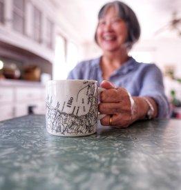 Hana Hou Hilo Topographic Mug