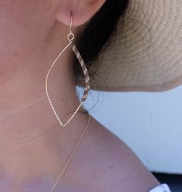 Hana Hou Kaimana Lauhala Earrings