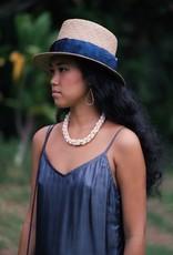 "Hana Hou Niʻihau Alilea 19"" (Pikake Style Necklace)"