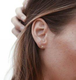 BIG ISLAND STUD EARRINGS 14K