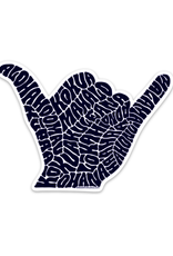 "Shaka Sticker (4"" x 2.93"")"