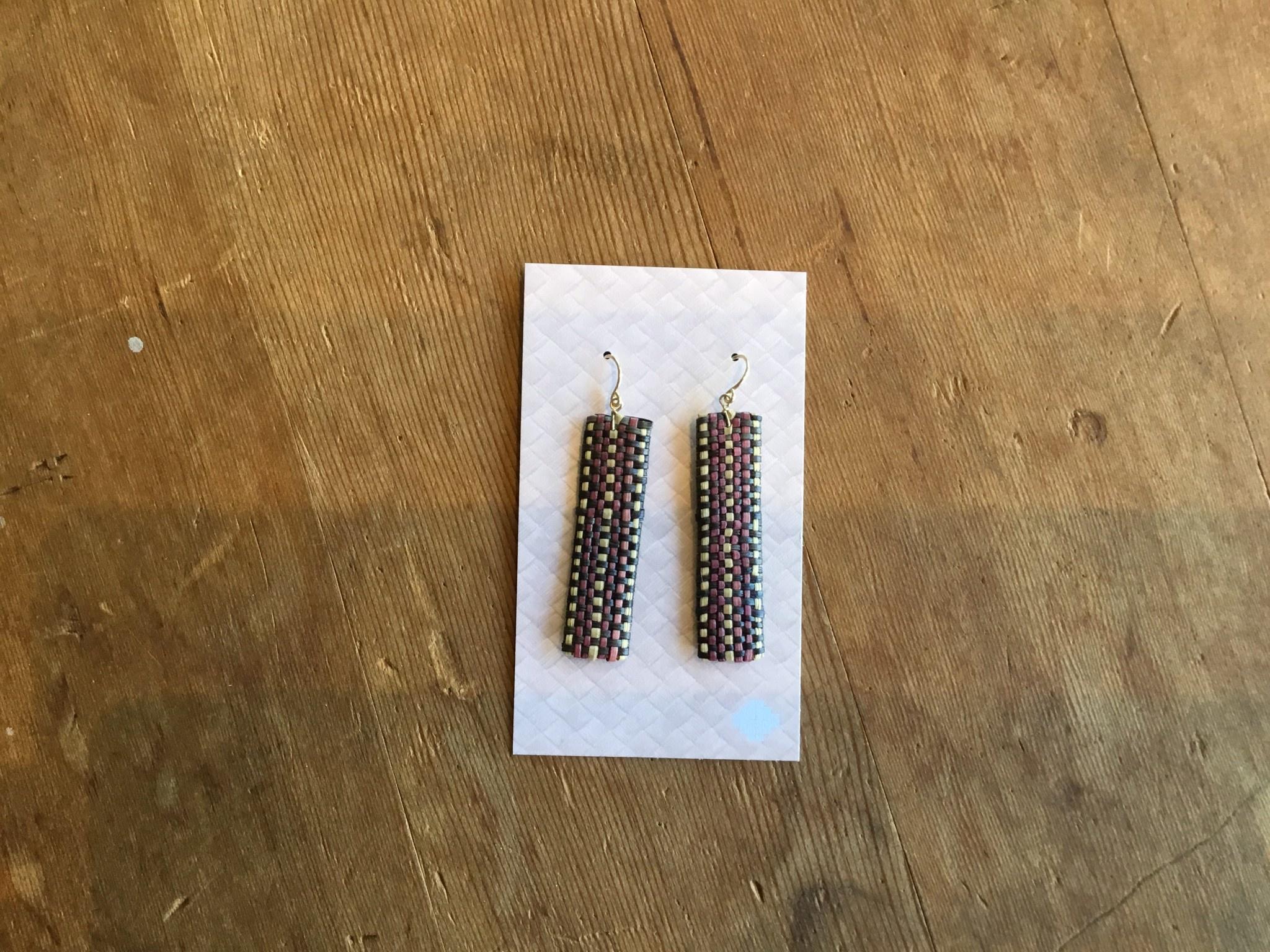 Ulana Lauhala Earrings