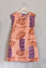 LAU FLARED DRESS