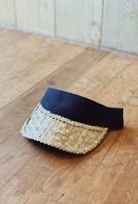 Lauhala Visor Velcro