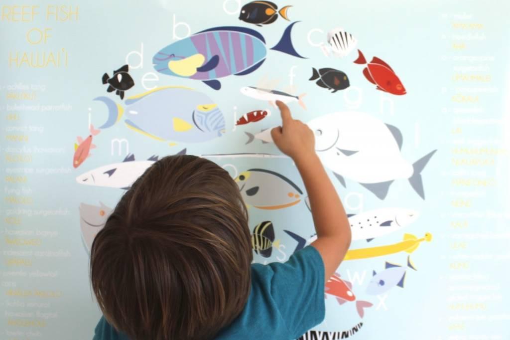 "Kupulau Fish Poster 20""x30"