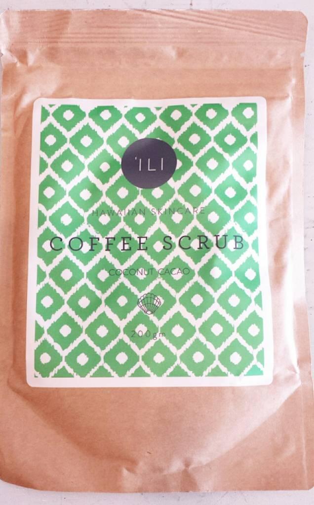 Ili Coffee Scrub Coconut Cacao