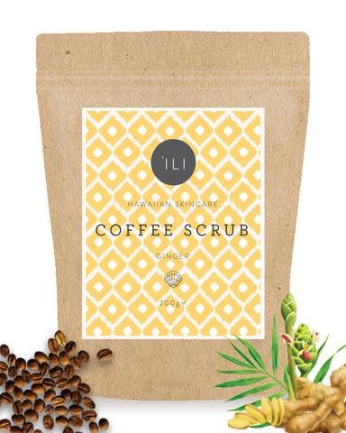 Ili Coffee Scrub Ginger