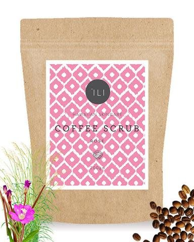 Ili Coffee Scrub Rose
