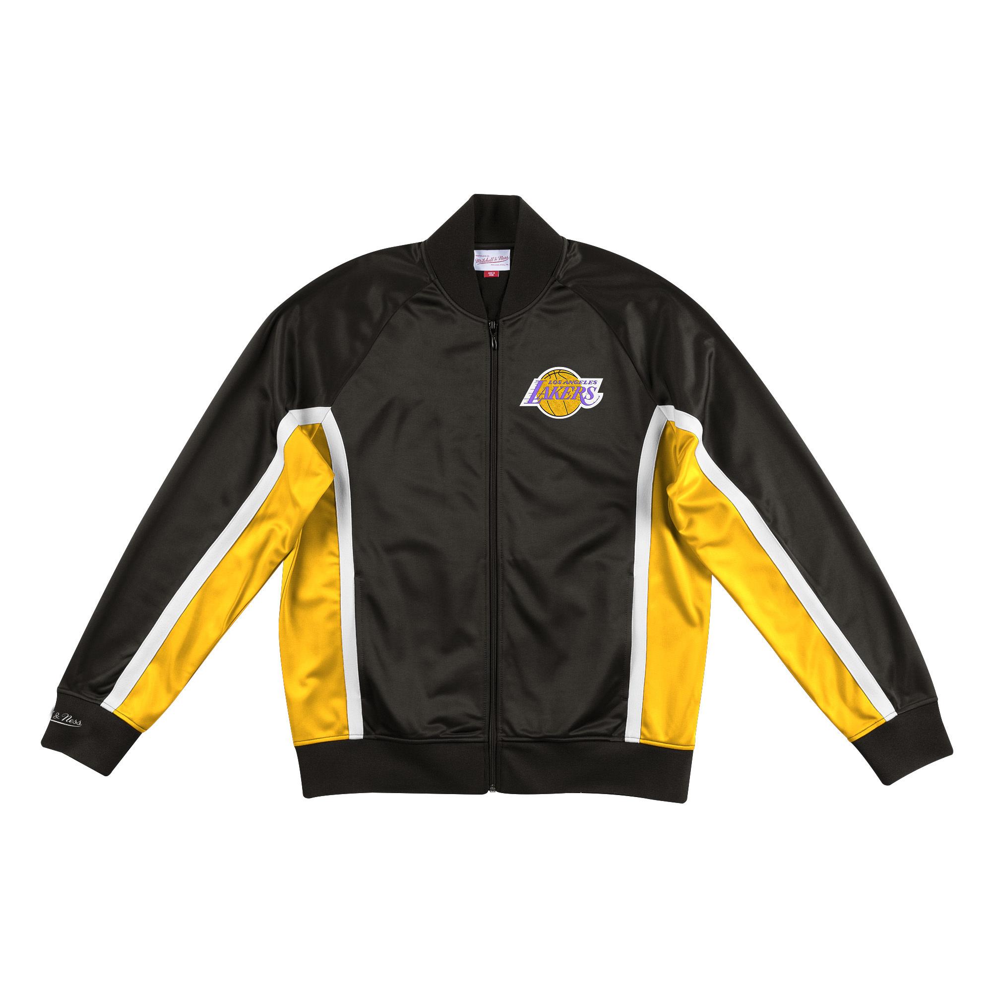 La Lakers Mitchell Ness 20 Men S Championship Game Track Jacket Black The Locker Room Of Downey