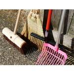 Pitchforks & brooms
