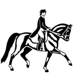 GT Reid Vinyl Decal- Dressage