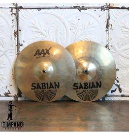 Sabian Used Sabian AAX Studio hi-hat Cymbals 13in