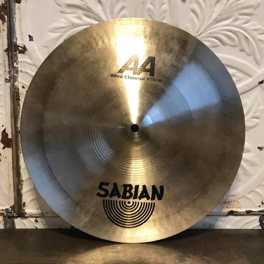 Sabian Cymbale chinoise usagée Sabian AA Mini 14po