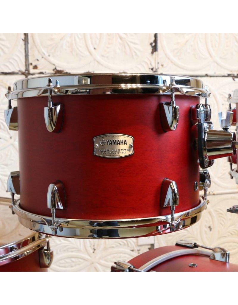 Yamaha Yamaha Tour Custom Candy Apple Satin Drum Kit 22-10-12-16in