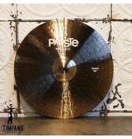 Paiste Cymbale crash Paiste 900 20po