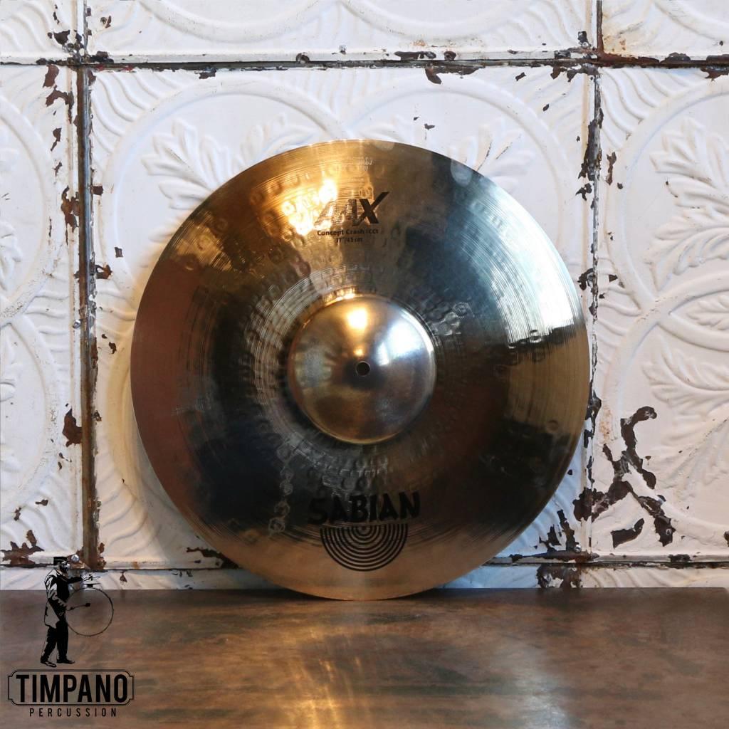 Sabian Cymbale crash Sabian AAX Concept 17po