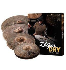 Zildjian Ensemble Zildjian K Special Dry Cymbal Set 14HH-16-18-21